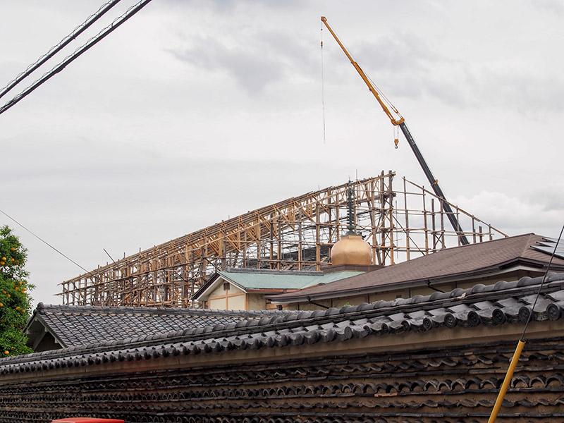 本隆寺 平成大改修工事