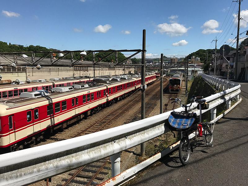 神戸電鉄 鈴蘭台車両基地