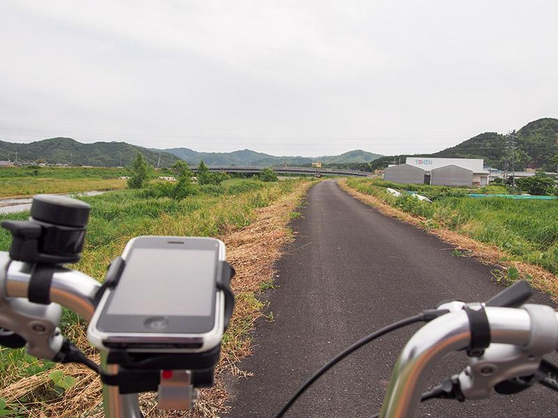 竹田川堤防