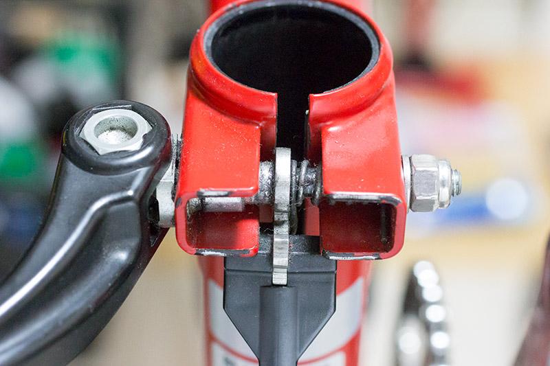 Brompton rear clip