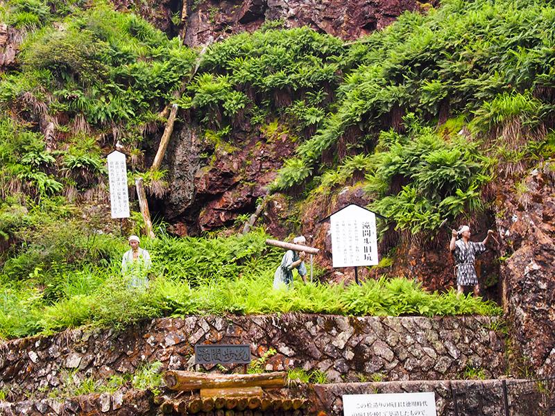 滝間歩旧坑