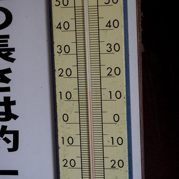 生野銀山 坑内気温