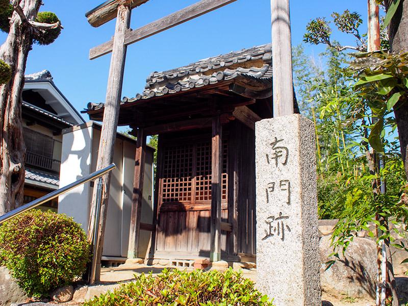 小浜宿 南門跡 愛宕宮 2017