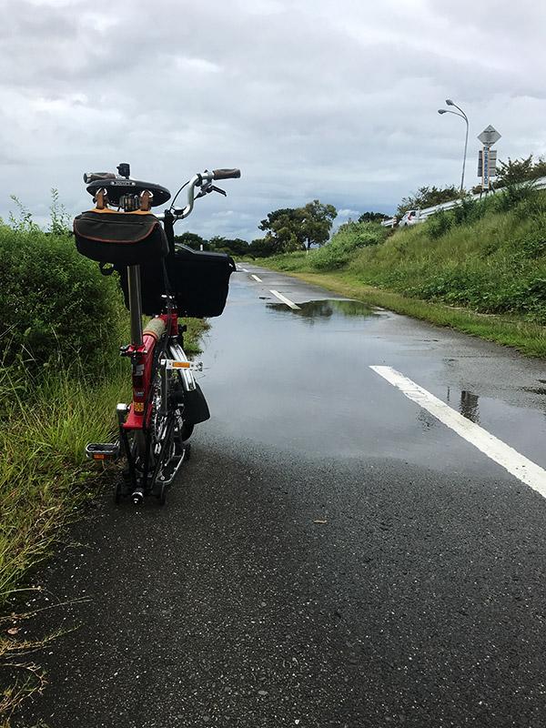 雨上がり武庫川CR