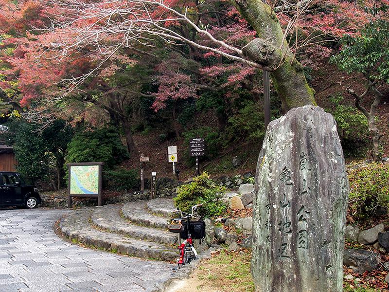 嵐山公園 亀山地区 2017