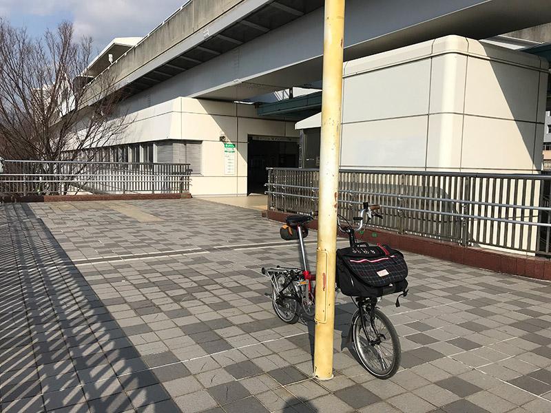 六甲ライナー マリンパーク駅 2018