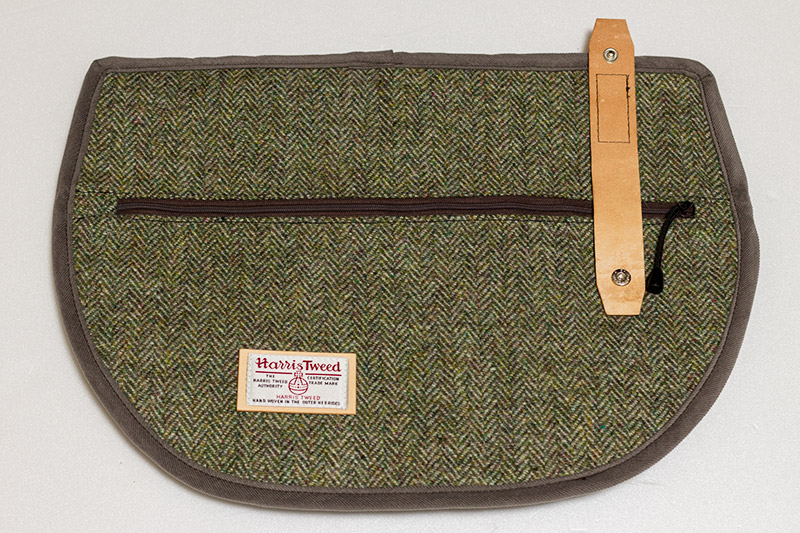 harris tweed s-bag flap herringbone