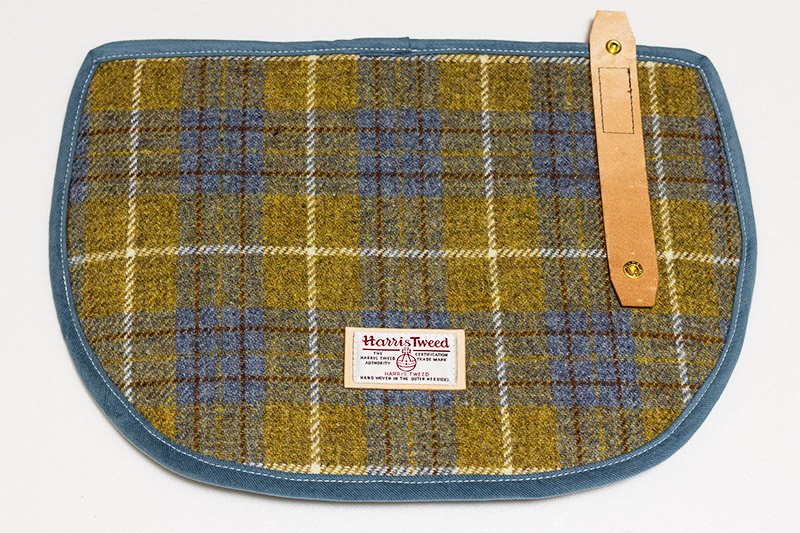 harris tweed s-bag flap tartan check