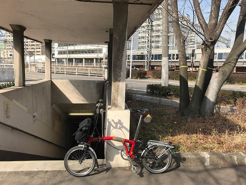 長洲線JR地下道 2018