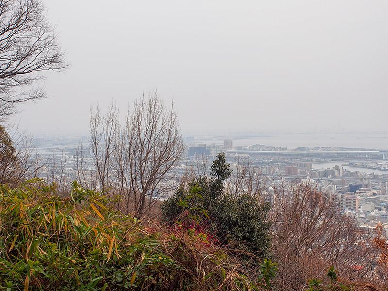 保久良山からの眺め