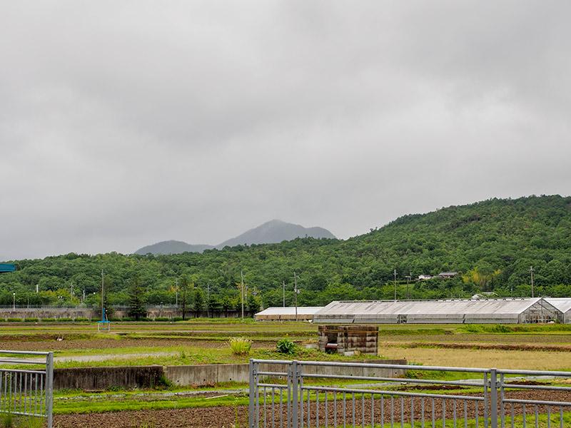 青野ダム方面