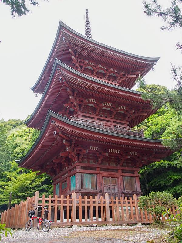 神戸 岩嶺山 石峯寺 三重塔