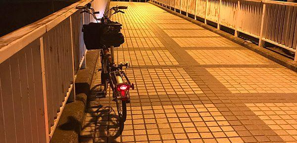 深夜サイクリング