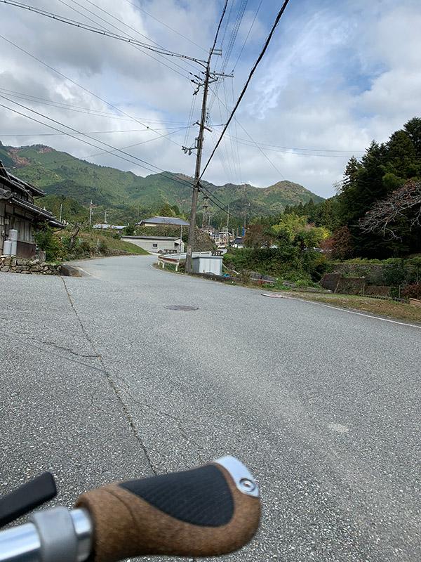 笠形山 登山口