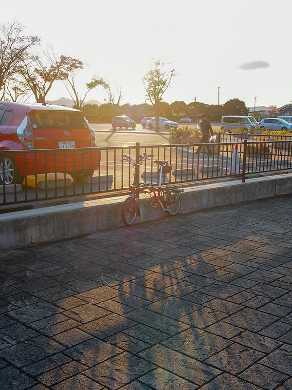 兵庫県立フラワーセンター 駐輪