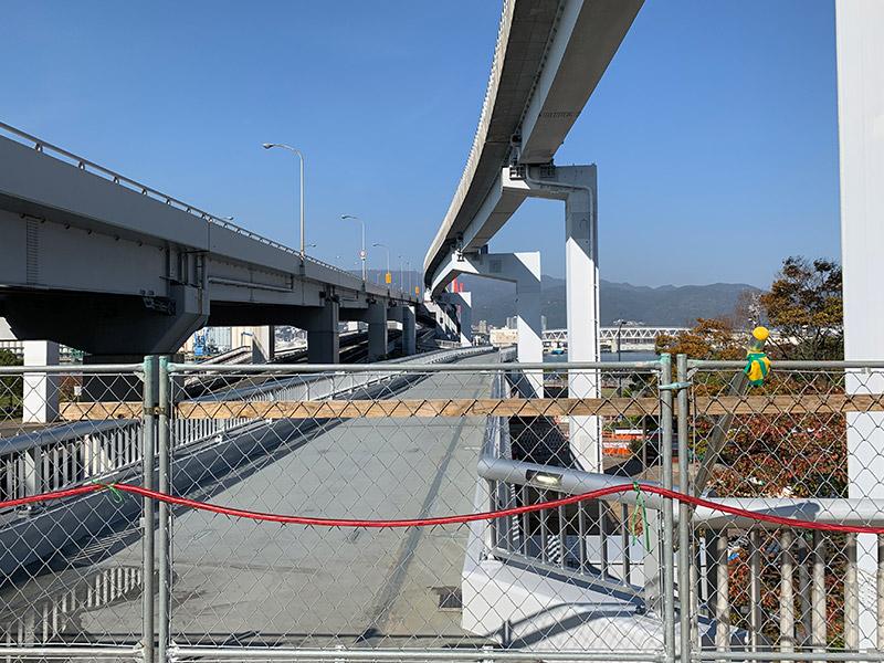 六甲アイランド歩道橋 2018