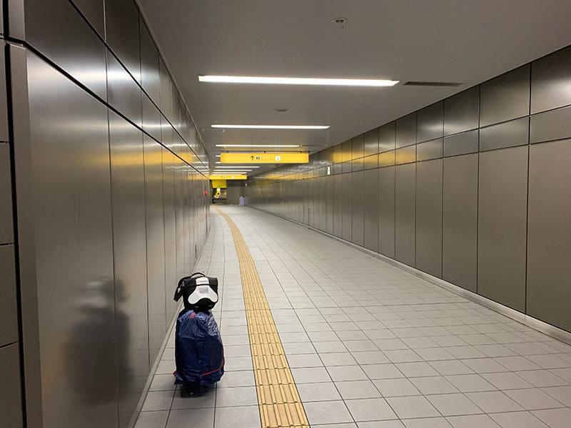 阪神電車 九条駅 輪行