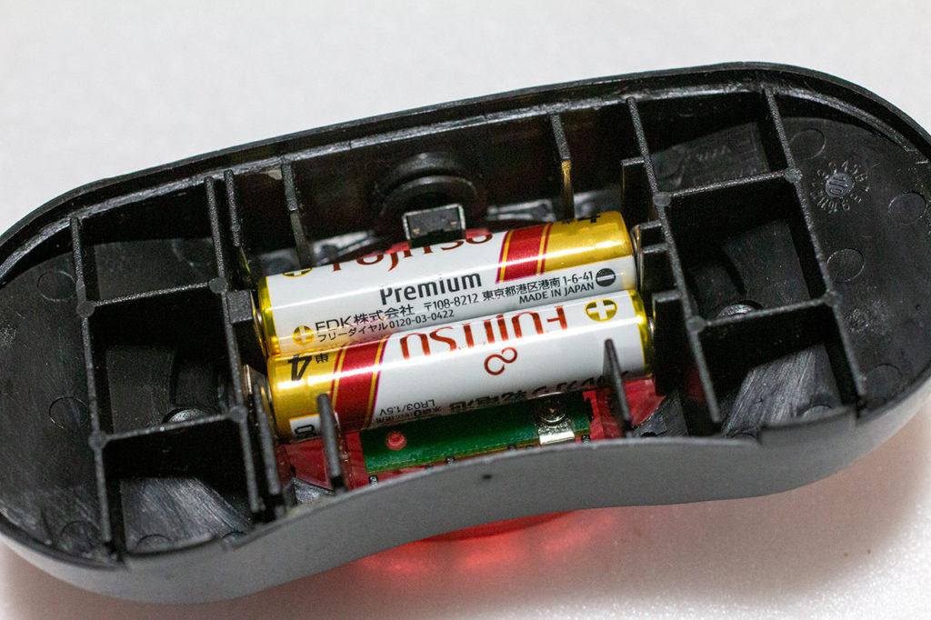 Brompton 旧リアランプ 電池