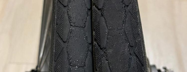 Brompton ケブラータイヤ
