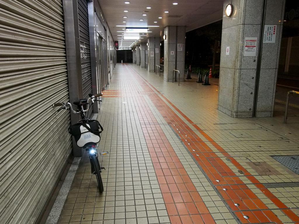非常事態宣言下の大阪梅田