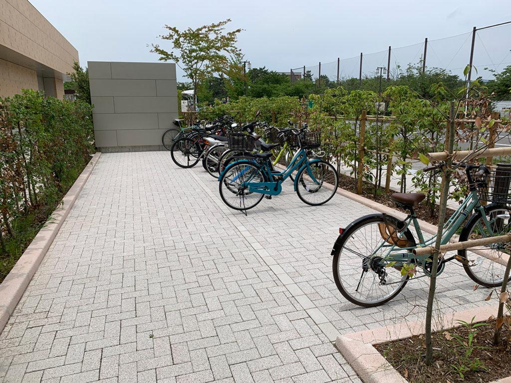 京セラ美術館 駐輪場 2020