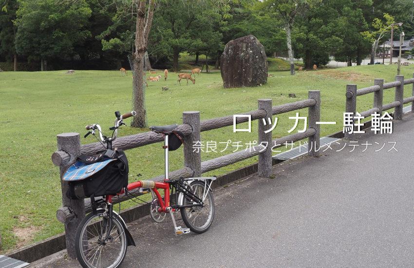 奈良プチポタ サドルメンテ