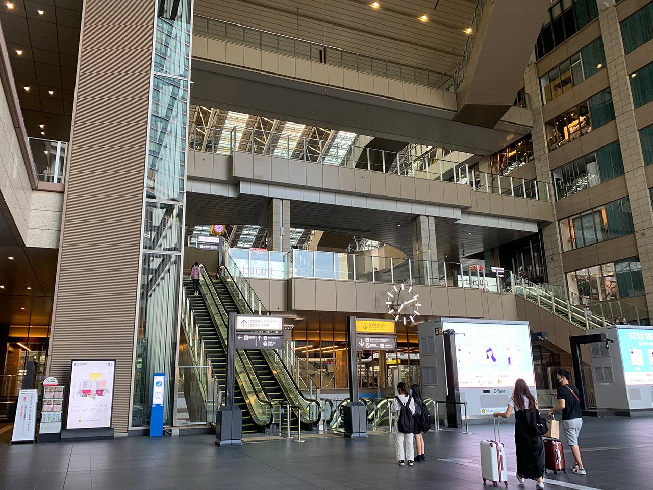 大阪駅 アトリウム広場