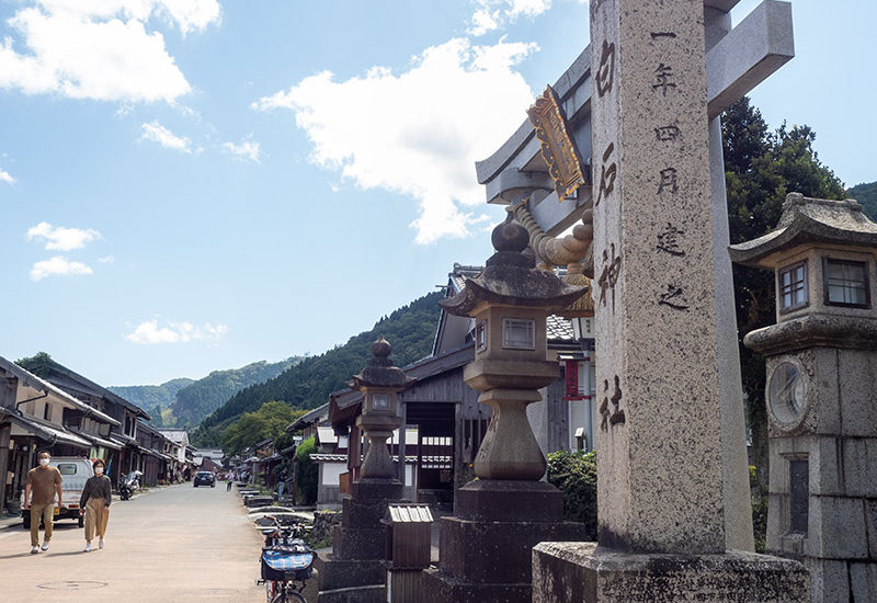 熊川宿 白石神社 2020