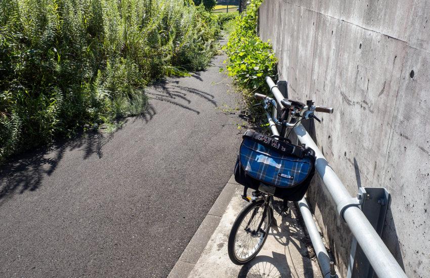 R27 国吉城トンネル 自転車  2020