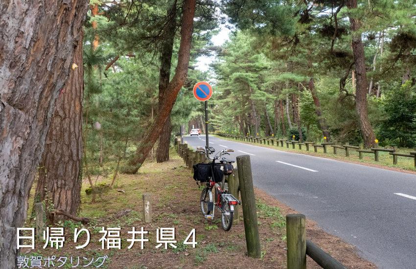 日帰り福井県4 敦賀ポタリング