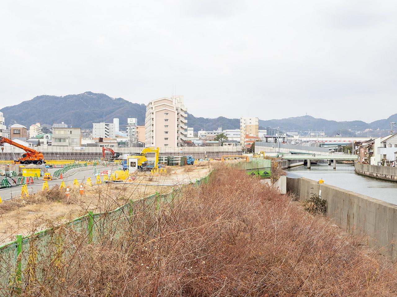 湊川ジャンクション付近 2021