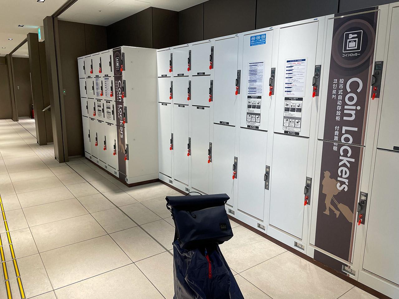 阪急神戸三宮駅 コインロッカー