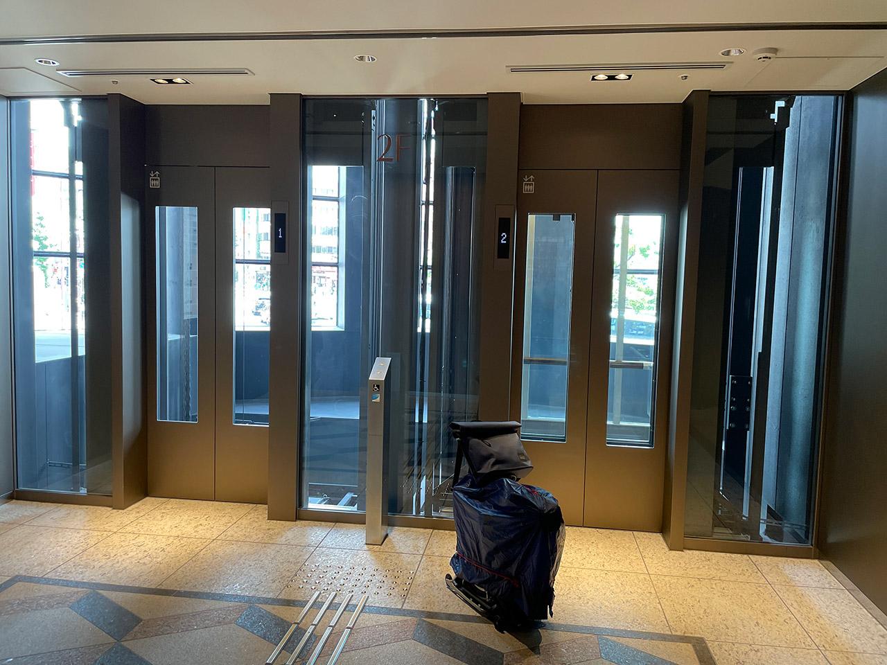 阪急神戸三宮駅 エレベーター