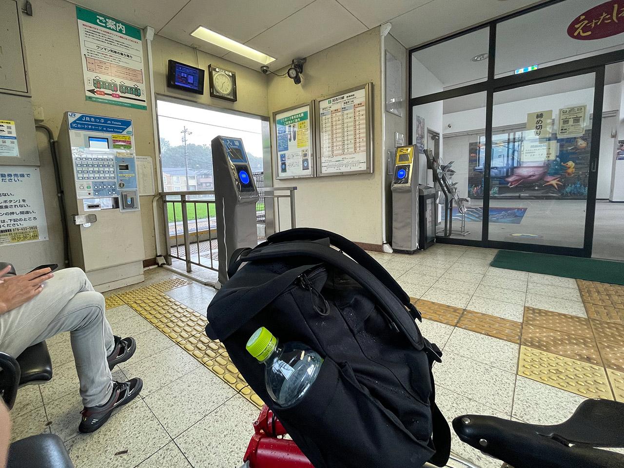 JR加古川線 滝野駅 2021